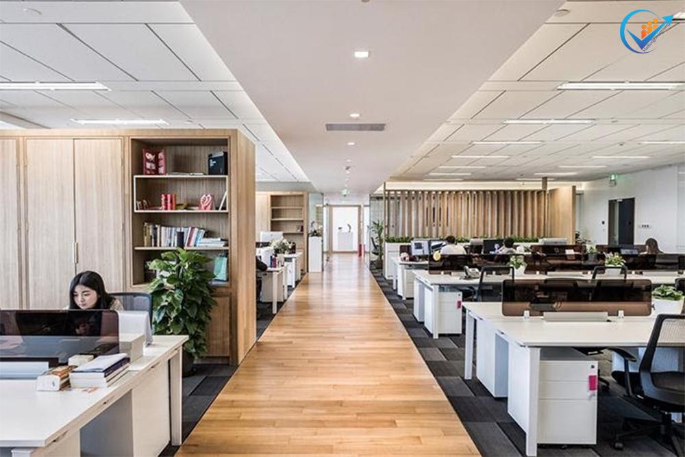 Kiến tạo nội thất văn phòng mở