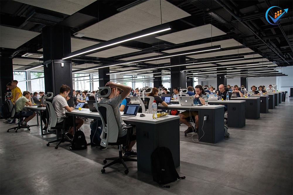 Thiết kế văn phòng không gian mở đẳng cấp
