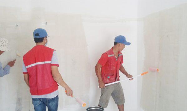đội thợ sơn nhà quận 9