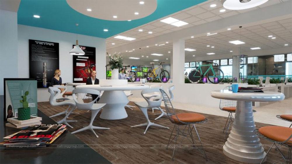 thiết kế showroom xe đạp thể thao APRO II 10