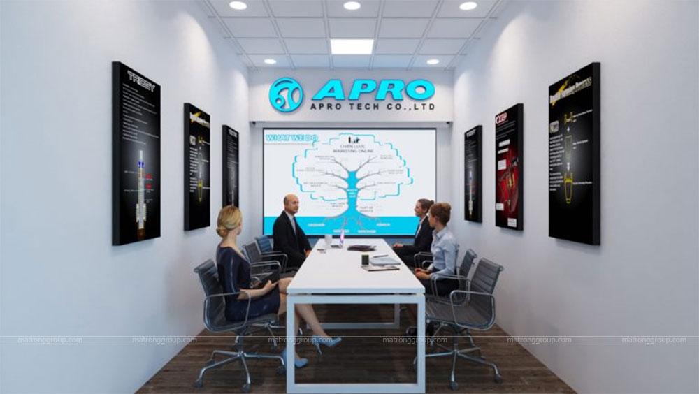 thiết kế showroom xe đạp thể thao APRO II 20