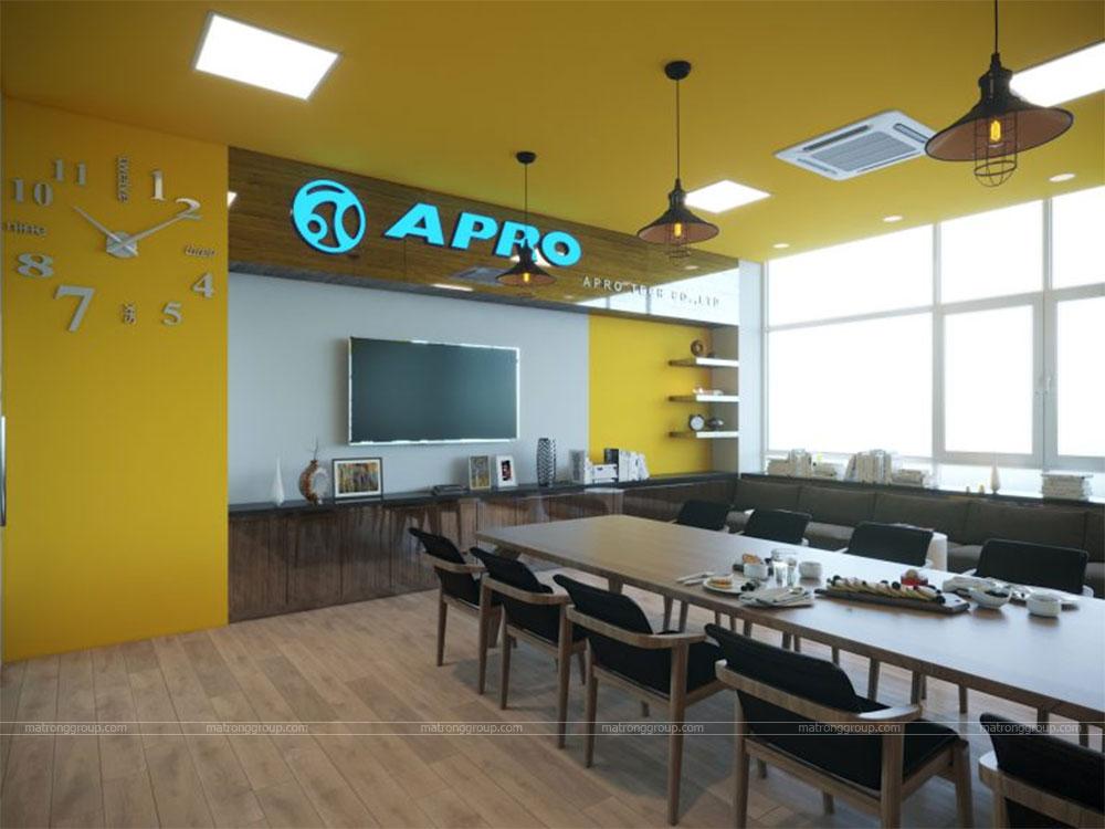 thiết kế showroom xe đạp thể thao APRO II 24