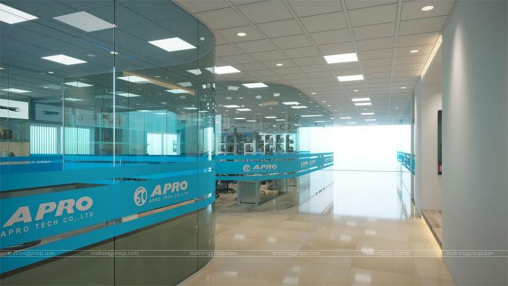 thiết kế showroom xe đạp thể thao APRO II 27