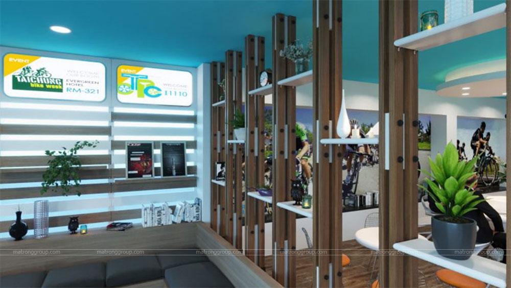 thiết kế showroom xe đạp thể thao APRO II 7