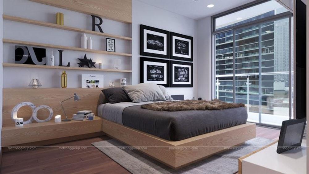 thiết kế thi công căn hộ A5.14 Vinhome Central Park 7