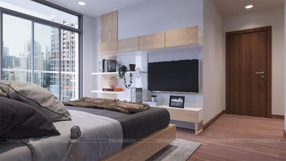 thiết kế thi công căn hộ A5.14 Vinhome Central Park 8