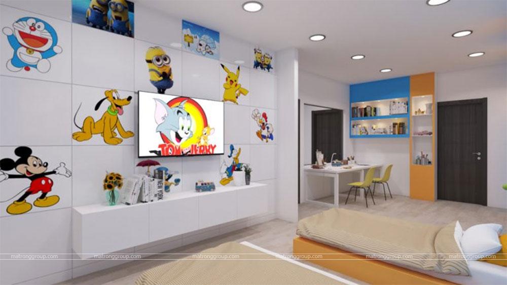 thiết kế thi công căn hộ NAM KHANG HOUSE 10