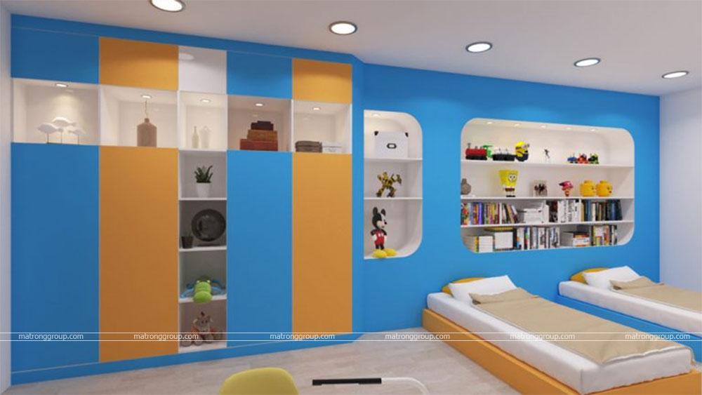thiết kế thi công căn hộ NAM KHANG HOUSE 13