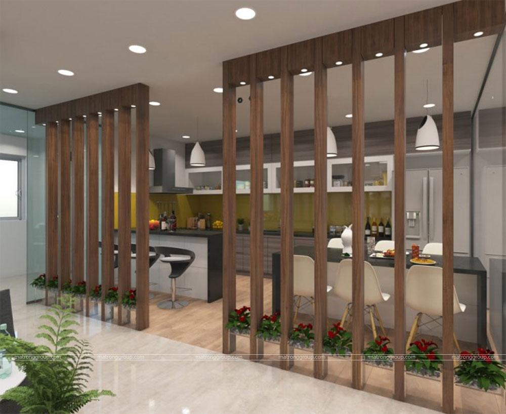 thiết kế thi công căn hộ NAM KHANG HOUSE 14