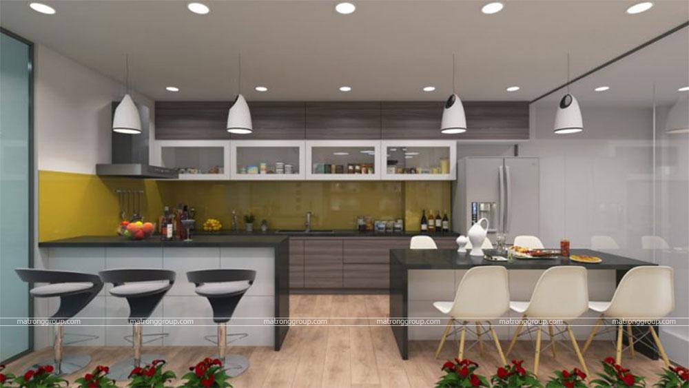 thiết kế thi công căn hộ NAM KHANG HOUSE 15