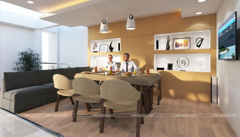 thiết kế thi công căn hộ NAM KHANG HOUSE 18