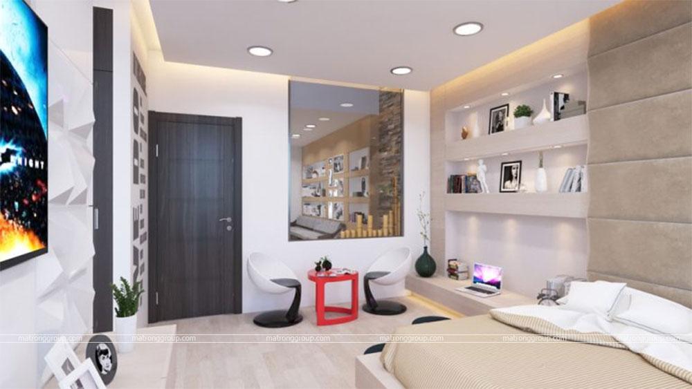 thiết kế thi công căn hộ NAM KHANG HOUSE 2