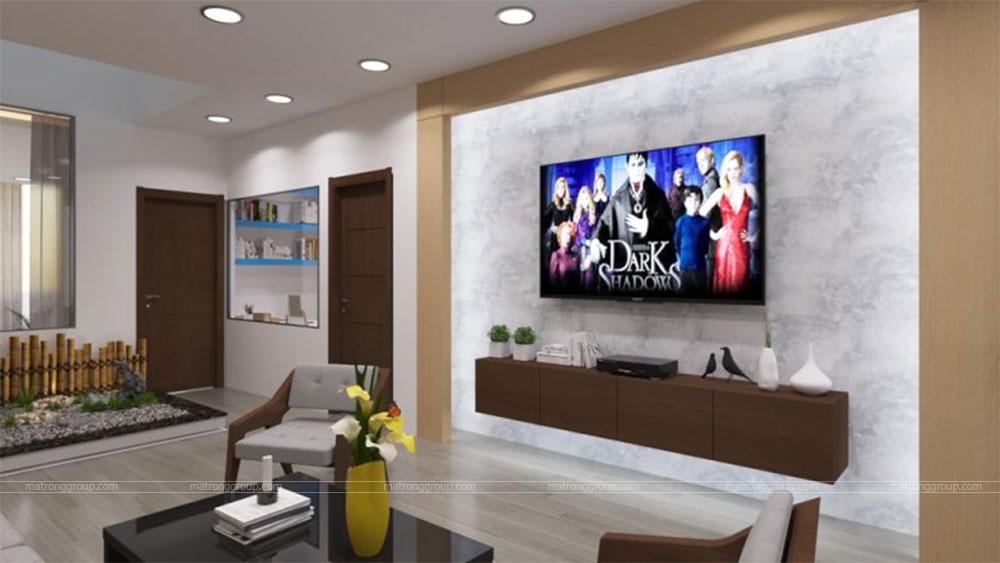 thiết kế thi công căn hộ NAM KHANG HOUSE 5