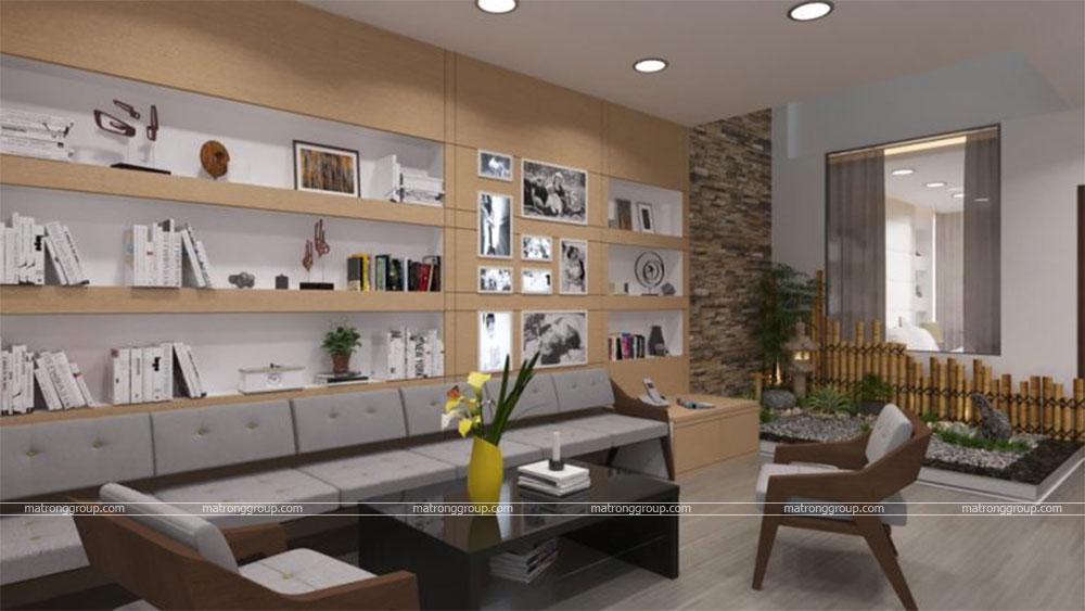 thiết kế thi công căn hộ NAM KHANG HOUSE 6