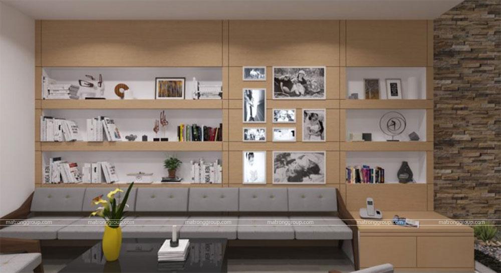 thiết kế thi công căn hộ NAM KHANG HOUSE 7