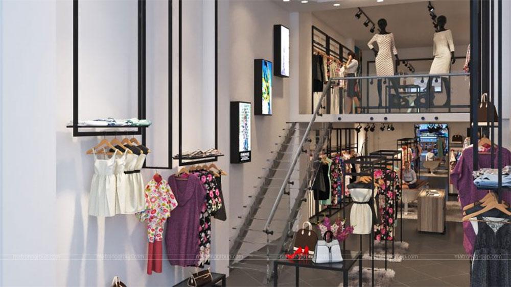 thiết kế thi công cửa hàng thời trang Miu Rey TOKYO 4