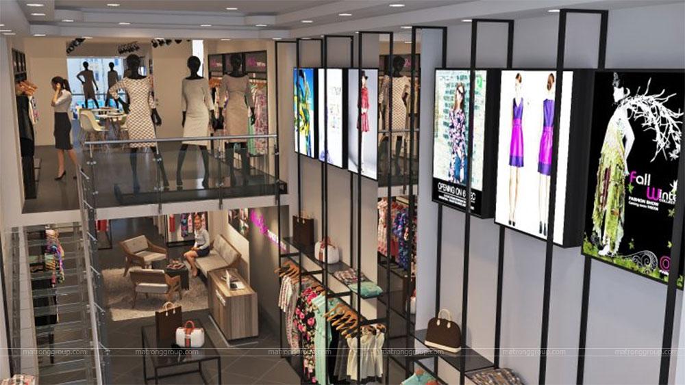 thiết kế thi công cửa hàng thời trang Miu Rey TOKYO 5