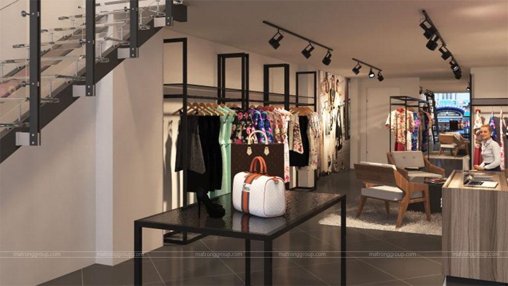 thiết kế thi công cửa hàng thời trang Miu Rey TOKYO 6