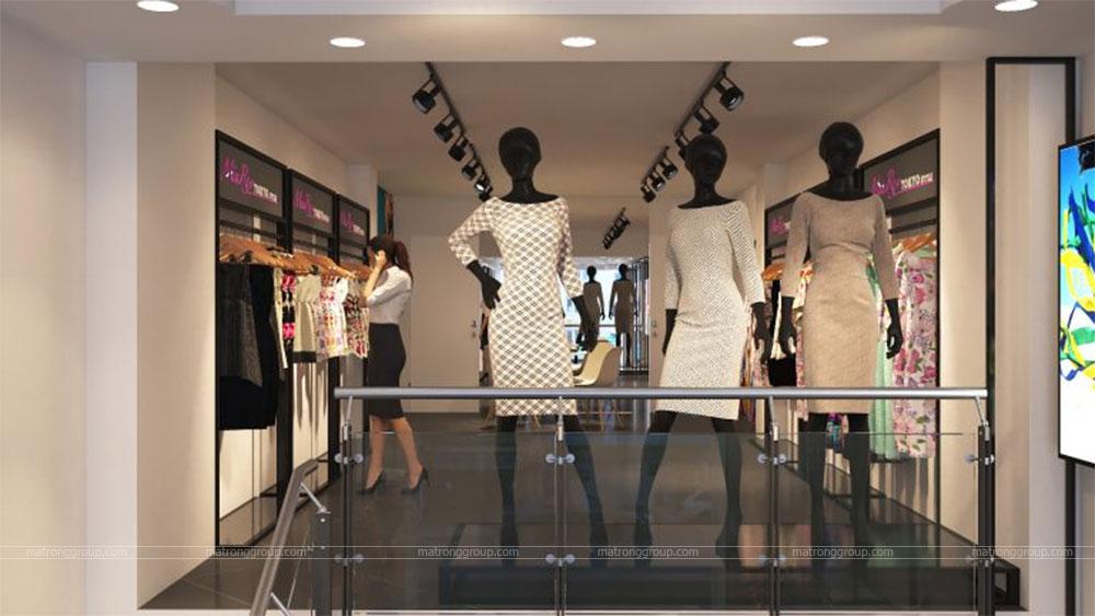 thiết kế thi công cửa hàng thời trang Miu Rey TOKYO 7