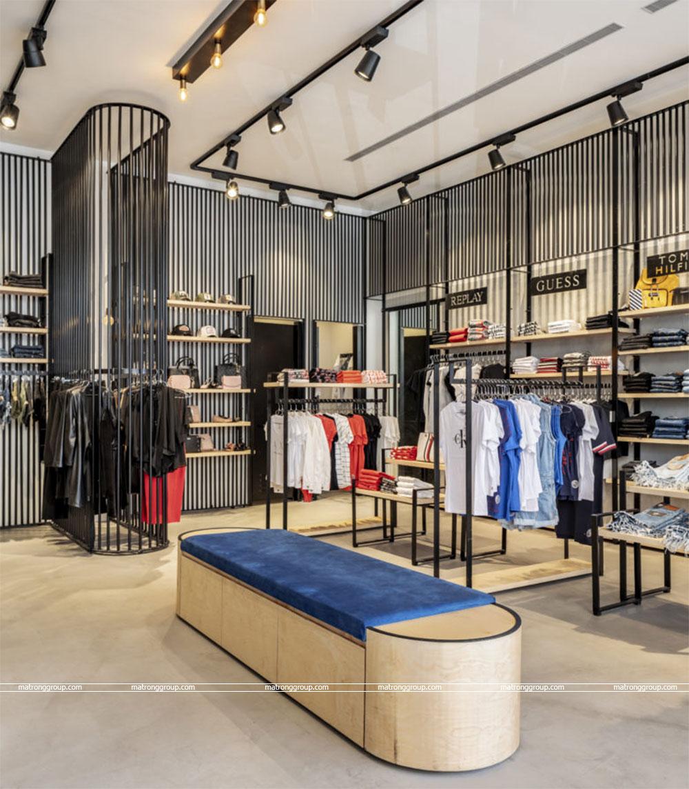 """thiết kế thi công cửa hàng thời trang """"RONEN'S"""" 2"""