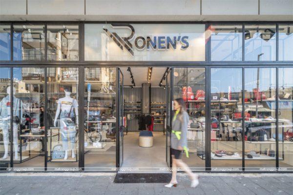 """thiết kế thi công cửa hàng thời trang """"RONEN'S"""" 8"""