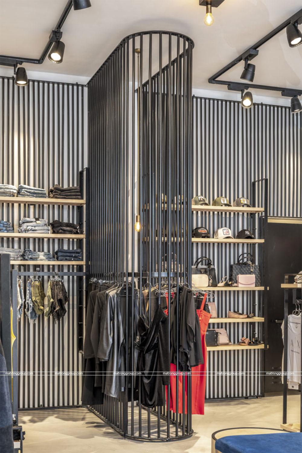 """thiết kế thi công cửa hàng thời trang """"RONEN'S"""" 9"""
