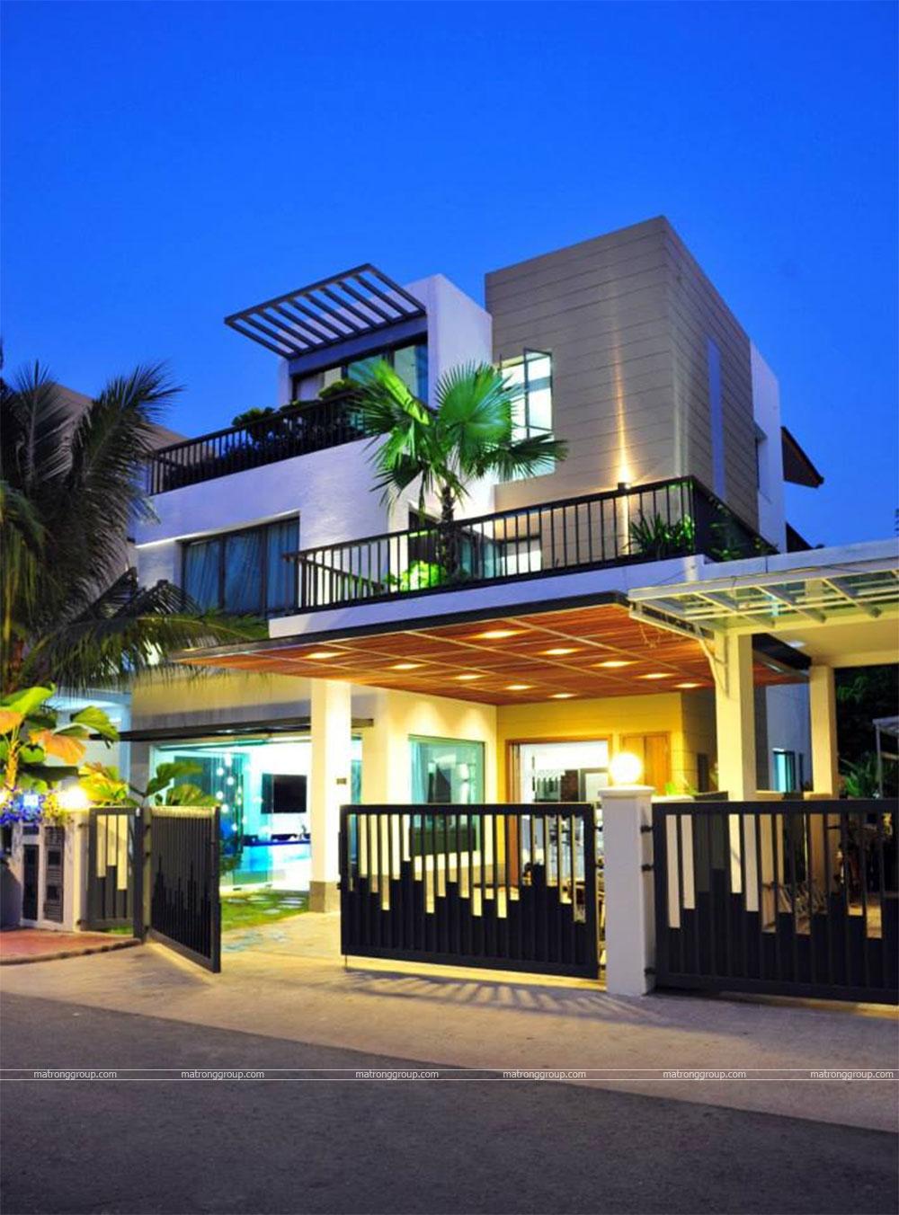 thiết kế thi công nhà phố hiện đại Trường Chinh, Q.12-HCM 1
