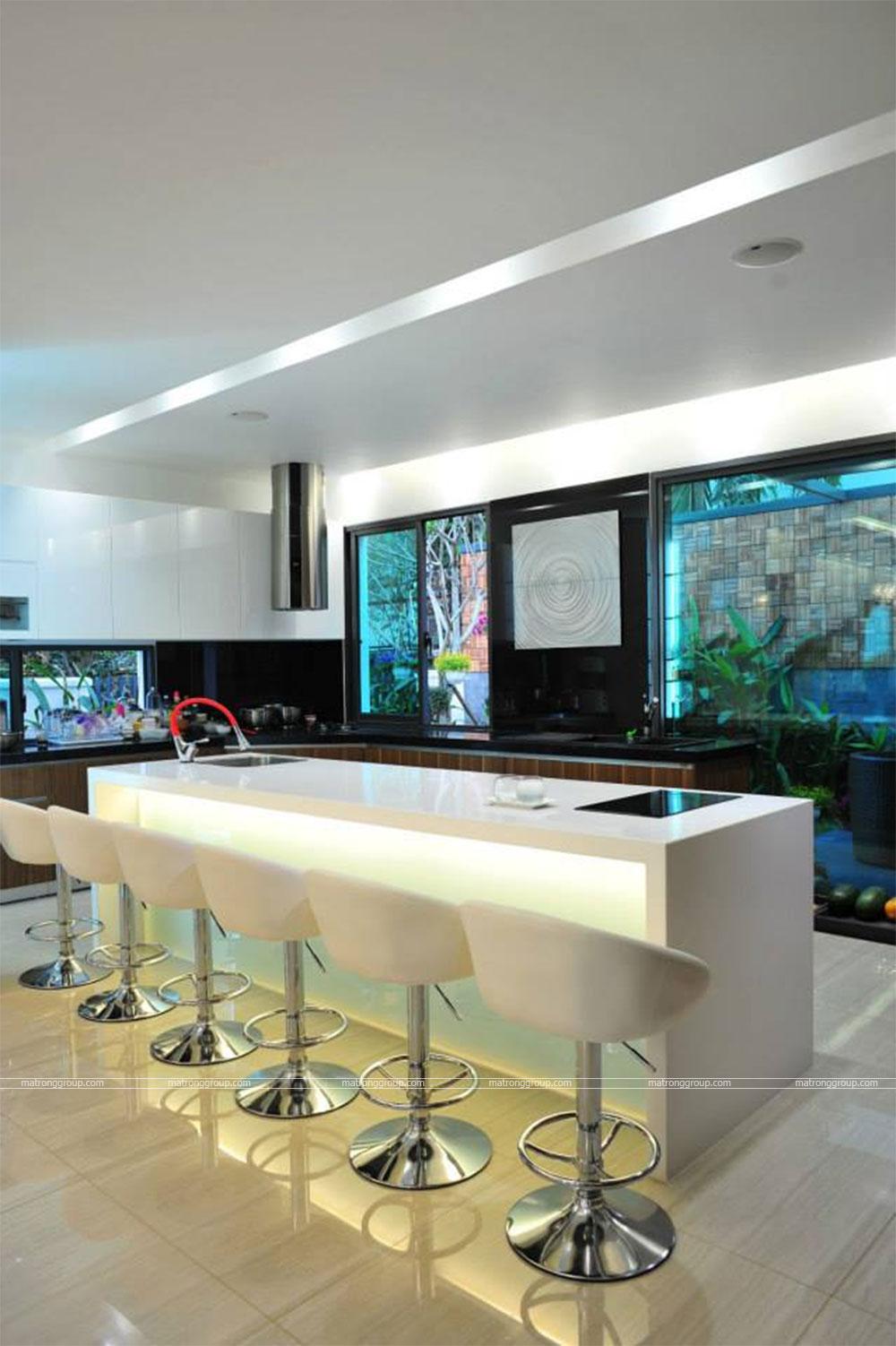 thiết kế thi công nhà phố hiện đại Trường Chinh, Q.12-HCM 10