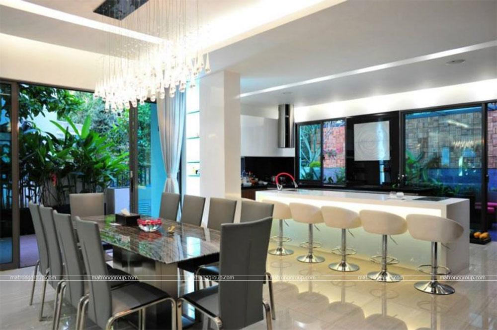 thiết kế thi công nhà phố hiện đại Trường Chinh, Q.12-HCM 11