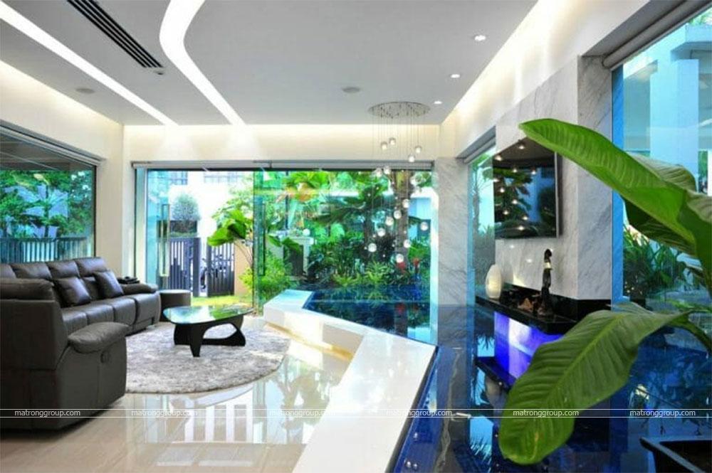 thiết kế thi công nhà phố hiện đại Trường Chinh, Q.12-HCM 5