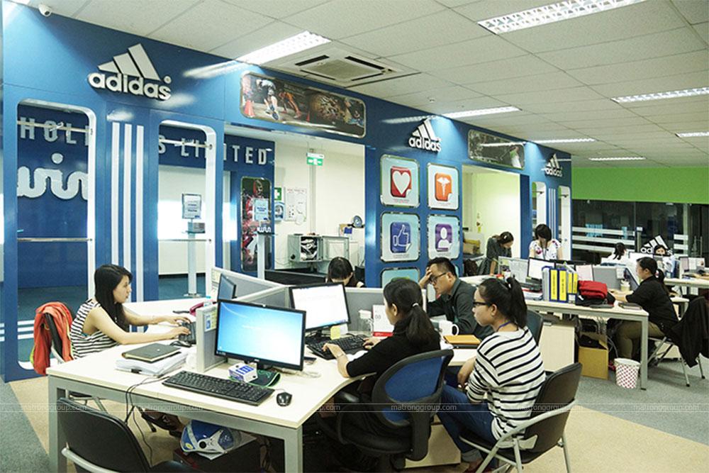 thiết kế thi công văn phòng Adidas 6