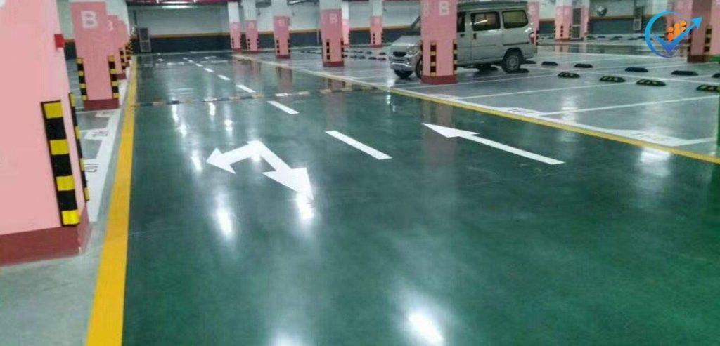 dự án sơn sàn tầng hầm tòa nhà Quận Bình Tân