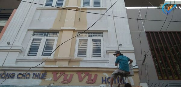 dự toán cải tạo sửa chữa khách sạn
