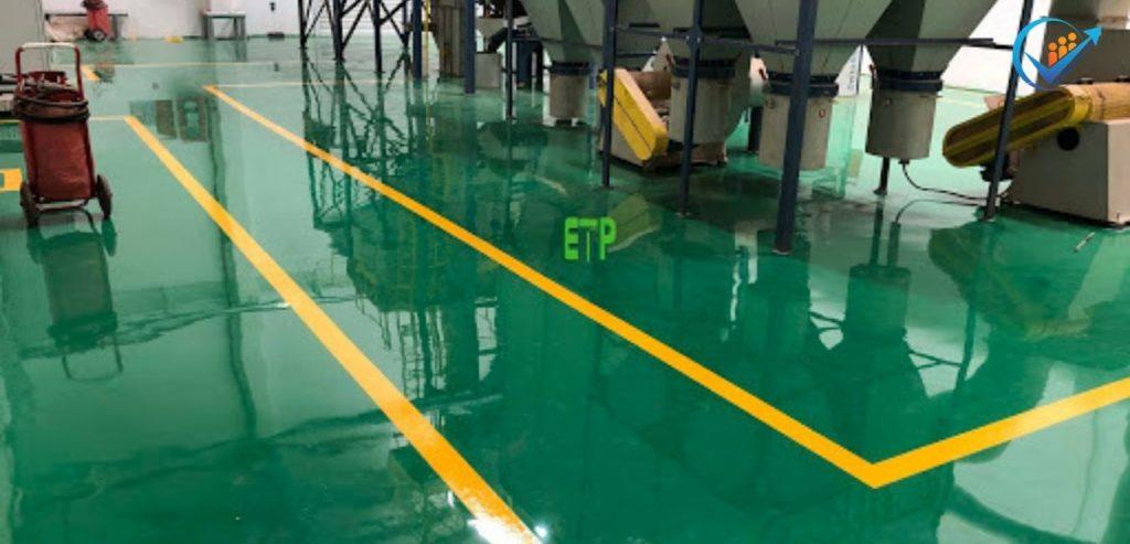 sơn nền nhà xưởng epoxy KCN Tân Bình