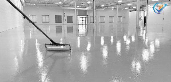 sơn sàn phòng sạch