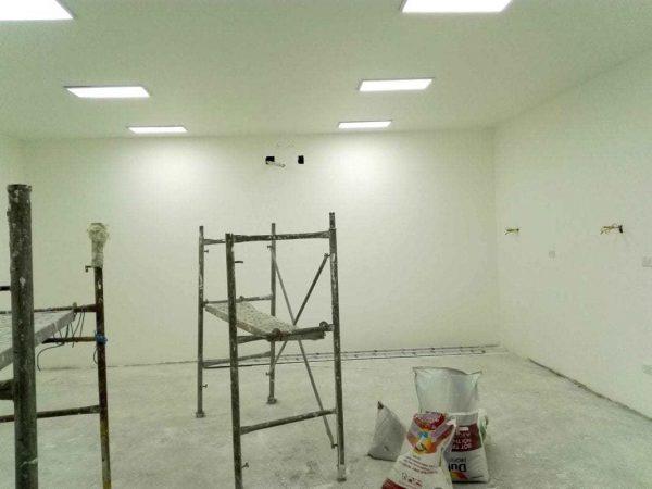sơn tường epoxy phòng bệnh viện