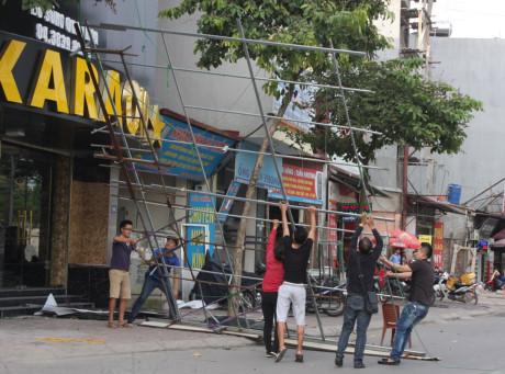 thi công sửa chữa quán karaoke Nguyễn Thị Thập