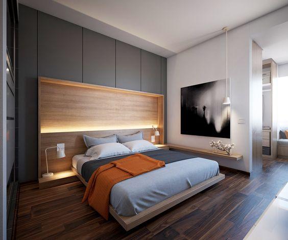 mẫu vách ngăn thạch cao phòng ngủ