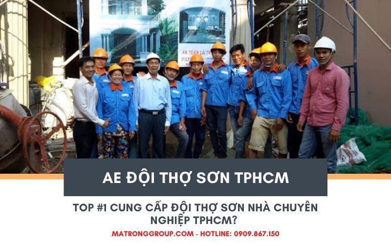đội thợ sơn nhà chuyên nghiệp TPHCM